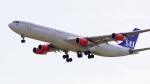 てつさんが、成田国際空港で撮影したスカンジナビア航空 A340-313Xの航空フォト(写真)