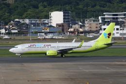 MOHICANさんが、福岡空港で撮影したジンエアー 737-8SHの航空フォト(写真)