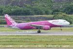HEATHROWさんが、長崎空港で撮影したピーチ A320-214の航空フォト(写真)