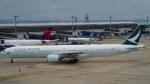 ねぎぬきさんが、中部国際空港で撮影したキャセイパシフィック航空 777-367の航空フォト(写真)