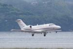 HEATHROWさんが、長崎空港で撮影した国土交通省 航空局 525C Citation CJ4の航空フォト(写真)
