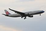 こだしさんが、成田国際空港で撮影したチャイナエアライン A330-302の航空フォト(写真)
