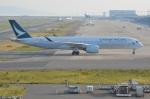 amagoさんが、関西国際空港で撮影したキャセイパシフィック航空 A350-941XWBの航空フォト(写真)