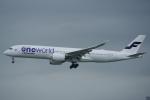 JA8037さんが、香港国際空港で撮影したフィンエアー A350-941XWBの航空フォト(写真)