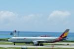 raiden0822さんが、那覇空港で撮影したアシアナ航空 A330-323Xの航空フォト(写真)