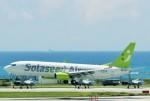 raiden0822さんが、那覇空港で撮影したソラシド エア 737-86Nの航空フォト(写真)