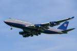 airbandさんが、成田国際空港で撮影したユナイテッド航空 747-422の航空フォト(写真)