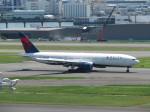 JA655Jさんが、羽田空港で撮影したデルタ航空 777-232/ERの航空フォト(写真)