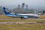 チャッピー・シミズさんが、小松空港で撮影した全日空 737-881の航空フォト(写真)