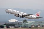 チャッピー・シミズさんが、小松空港で撮影した日本トランスオーシャン航空 737-4Q3の航空フォト(写真)