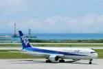raiden0822さんが、那覇空港で撮影した全日空 767-381の航空フォト(写真)