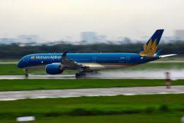 まいけるさんが、タンソンニャット国際空港で撮影したベトナム航空 A350-941XWBの航空フォト(写真)