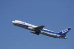 カンクンさんが、福岡空港で撮影した全日空 767-381/ERの航空フォト(写真)