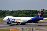 JA946さんが、成田国際空港で撮影したアトラス航空 747-47UF/SCDの航空フォト(写真)