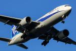 SGR RTさんが、羽田空港で撮影した全日空 777-281の航空フォト(写真)