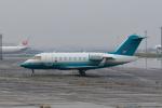 たまさんが、羽田空港で撮影したロンドン・エア・サービス CL-600-2B16 Challenger 605の航空フォト(写真)