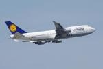 zettaishinさんが、フランクフルト国際空港で撮影したルフトハンザドイツ航空 747-430の航空フォト(写真)