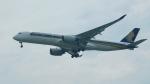 Kilo Indiaさんが、シンガポール・チャンギ国際空港で撮影したシンガポール航空 A350-941XWBの航空フォト(写真)