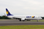 ワイエスさんが、鹿児島空港で撮影したスカイマーク 737-86Nの航空フォト(写真)
