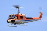 ドリさんが、ふくしまスカイパークで撮影した新日本ヘリコプター 204B-2(FujiBell)の航空フォト(写真)