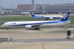キイロイトリ1005fさんが、羽田空港で撮影した全日空 777-381/ERの航空フォト(写真)