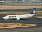 けいとパパさんが、羽田空港で撮影したスカイマーク 737-82Yの航空フォト(写真)