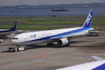けいとパパさんが、羽田空港で撮影した全日空 777-381の航空フォト(写真)