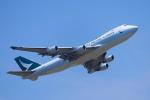 こむぎさんが、成田国際空港で撮影したキャセイパシフィック航空 747-467F/ER/SCDの航空フォト(写真)