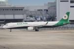 キイロイトリ1005fさんが、関西国際空港で撮影したエバー航空 A321-211の航空フォト(写真)