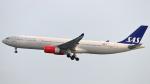 誘喜さんが、香港国際空港で撮影したスカンジナビア航空 A330-343Xの航空フォト(写真)