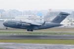 虎太郎19さんが、福岡空港で撮影したアメリカ空軍 C-17A Globemaster IIIの航空フォト(写真)