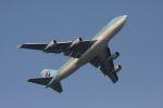 クルーズさんが、羽田空港で撮影した大韓航空 747-4B5の航空フォト(写真)