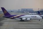 セブンさんが、関西国際空港で撮影したタイ国際航空 A380-841の航空フォト(写真)