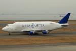 セブンさんが、中部国際空港で撮影したボーイング 747-4J6(LCF) Dreamlifterの航空フォト(写真)