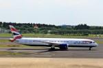 JA946さんが、成田国際空港で撮影したブリティッシュ・エアウェイズ 787-9の航空フォト(写真)