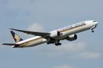 saoya_saodakeさんが、成田国際空港で撮影したシンガポール航空 777-312/ERの航空フォト(写真)