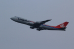 もっちみずさんが、小松空港で撮影したカーゴルクス 747-8R7F/SCDの航空フォト(写真)
