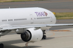 カンタさんが、中部国際空港で撮影したタイ国際航空 777-3D7の航空フォト(写真)
