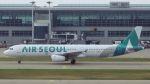 やまちゃんさんが、仁川国際空港で撮影したエアソウル A321-231の航空フォト(写真)