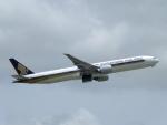 じゅんぼ〜さんが、成田国際空港で撮影したシンガポール航空 777-312/ERの航空フォト(写真)