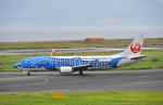kix-boobyさんが、関西国際空港で撮影した日本トランスオーシャン航空 737-4Q3の航空フォト(写真)