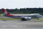 SFJ_capさんが、成田国際空港で撮影したカーゴルクス・イタリア 747-4R7F/SCDの航空フォト(写真)