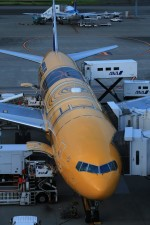 pcxさんが、羽田空港で撮影した全日空 777-281/ERの航空フォト(写真)