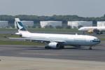 SFJ_capさんが、成田国際空港で撮影したキャセイパシフィック航空 A330-343Xの航空フォト(写真)