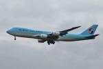 YASKYさんが、成田国際空港で撮影した大韓航空 747-8B5F/SCDの航空フォト(写真)