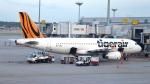 誘喜さんが、シンガポール・チャンギ国際空港で撮影したタイガーエア A320-232の航空フォト(写真)