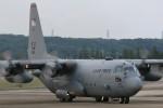 マリオ先輩さんが、横田基地で撮影したアメリカ空軍 C-130H Herculesの航空フォト(写真)