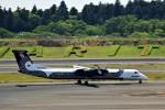 JA946さんが、成田国際空港で撮影したオーロラ DHC-8-402Q Dash 8の航空フォト(写真)
