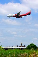まいけるさんが、スワンナプーム国際空港で撮影したロシア航空 747-446の航空フォト(写真)