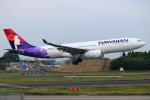 こだしさんが、成田国際空港で撮影したハワイアン航空 A330-243の航空フォト(写真)